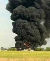 Fracking site explosion