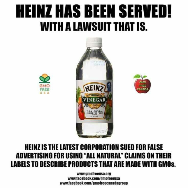 Heinz is not Non-GMO
