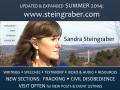 SANDRA STEINGRABER y su trabajo contra elfracking.