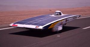 Los coches solares atravesaron el desierto de Atacama, en Chile, durante 5 días