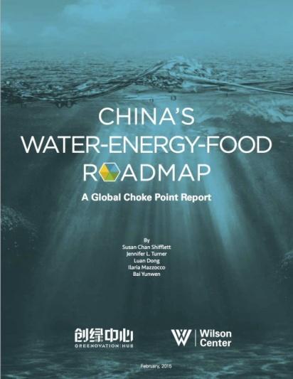 Water-energy-food Roadmap 1