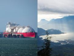 LNG tanker Howe Sounds Woodfibre LNG Vancouver Observer