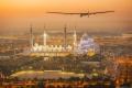 El avión Solar Impulse 2 inicia la segunda etapa de la vuelta al mundo, de Omán aAhmedabad